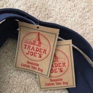 Trader Joe's Bags - NWT 2 Trader Joe's Reusable Canvas ♻️Eco Tote Bag